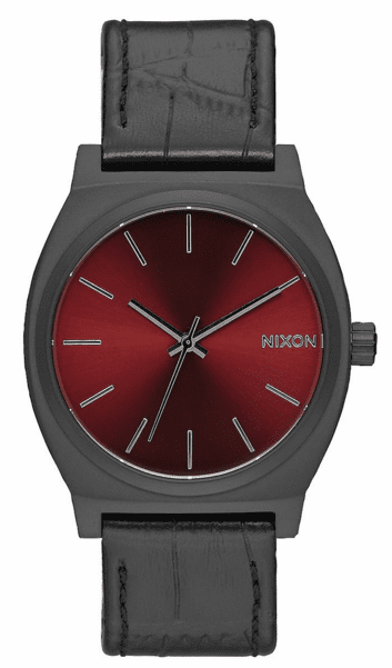 (Sale!!!) Nixon Time Teller Watch<br>Black Gator