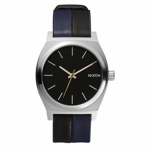 (Sale!!!) Nixon Time Teller Watch<br>Black/Navy/Black