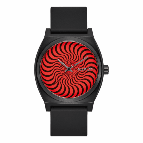 (SALE!!!) Nixon Time Teller Watch<br>Black/Swirl