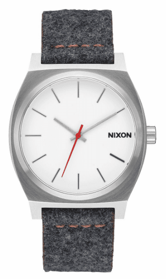 (Sale!!!) Nixon Time Teller Watch<br>Grey/Tan