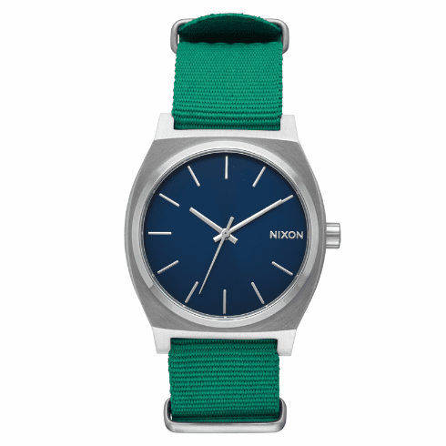 (Sale!!!) Nixon Time Teller Watch<br>Navy/Green