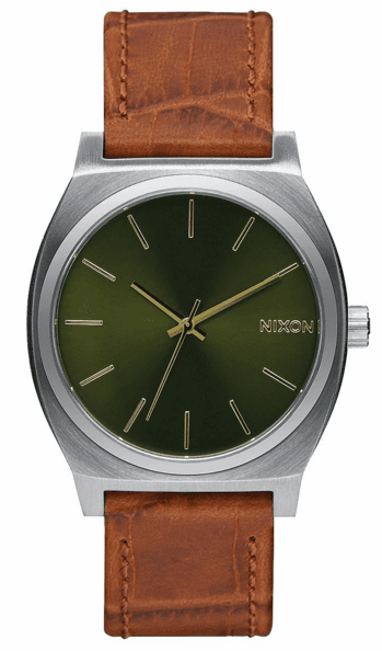 (Sale!!!) Nixon Time Teller Watch<br>Saddle Gator