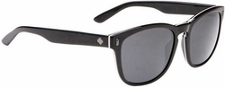 (Sale!!!) Spy Beachwood Sunglasses<br>Crosstown Collection<br>3 Ply Black/Gray