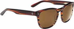 (Sale!!!) Spy Beachwood Sunglasses<br>Crosstown Collection<br>Cuban Smoke/Bronze
