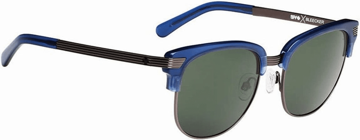(Sale!!!) Spy Bleecker Sunglasses<br>Crosstown Collection<br>Ocean Blue/Happy Gray Green