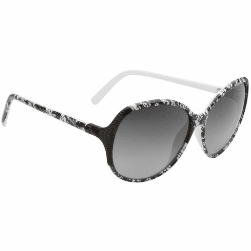 (Sale!!!) Spy Edyn Sunglasses<BR>Black/White Lace/Black Fade