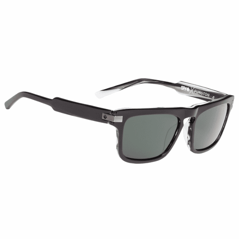 (Sale!!!) Spy Funston Sunglasses<br>Black Horn/Happy Grey Green