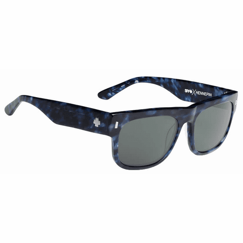 (Sale!!!) Spy Hennepin Sunglasses<br>Crosstown Collection<br>Navy Camo Tort/Happy Grey Green