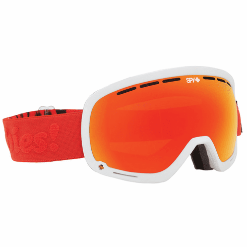 (Sale!!!) Spy Optic Marshall Snow Goggles<br>Keep A Breast/Bronze w/Red Spectra