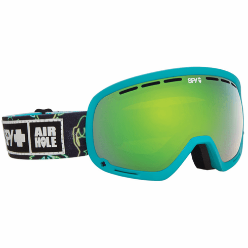 (Sale!!!) Spy Optic Marshall Snow Goggles<br>SPY + Airhole/Bronze w/Green Spectra