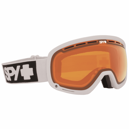 (Sale!!!) Spy Optic Marshall Snow Goggles<br>White/Persimmon