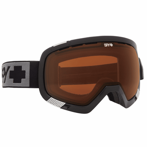 (Sale!!!) Spy Optic Platoon Snow Goggles<br>Black/Bronze + Persimmon