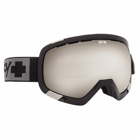 (Sale!!!) Spy Optic Platoon Snow Goggles<br>Black/Bronze Silver Mirror + Yellow w/Green Spectra