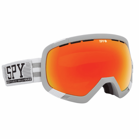 (Sale!!!) Spy Optic Platoon Snow Goggles<br>Chairlift Collegiate/Bronze w/Red Spectra + Blue Contact