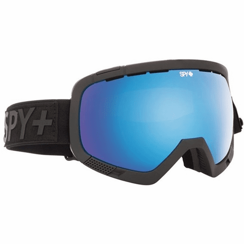 (Sale!!!) Spy Optic Platoon Snow Goggles<br>Flight Strap/Bronze w Light Blue Spectra + Persimmon