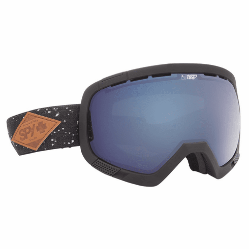 (Sale!!!) Spy Optic Platoon Snow Goggles<br>Midnight Makeout/Happy Rose w Dark Blue Spectra + Blue Contact