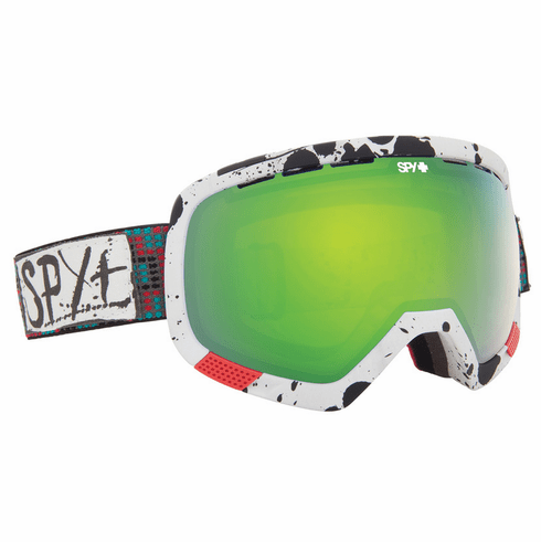 (Sale!!!) Spy Optic Platoon Snow Goggles<br>Wiley Miller/Yellow w/Green Spectra + Bronze w/Red Spectra
