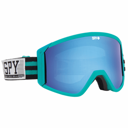 (Sale!!!) Spy Optic Raider Snow Goggles<br>Chairlift Collegiate/Bronze w/Light Blue Spectra + Persimmon