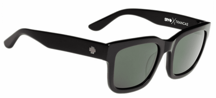 (Sale!!!) Spy Trancas Sunglasses<br>Black/Happy Grey Green