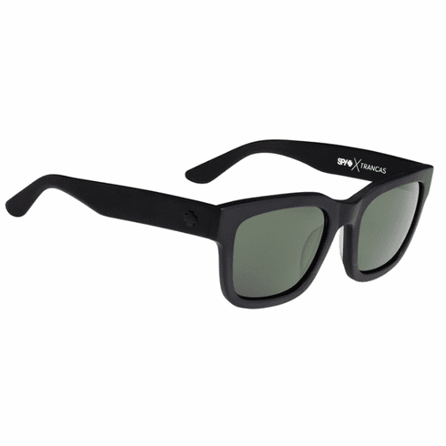 (Sale!!!) Spy Trancas Sunglasses<br>Matte Black/Happy Grey Green