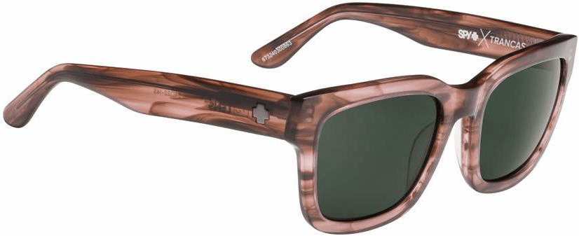 (Sale!!!) Spy Trancas Sunglasses<br>Pink Smoke/Happy Gray Green