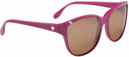 (Sale!!!) Spy Valentina Sunglasses<br>Shiny Candy Pink/Bronze