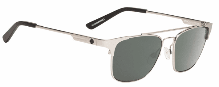 (Sale!!!) Spy Westport Sunglasses<br>Crosstown Collection<br>Matte Silver/Happy Grey Green