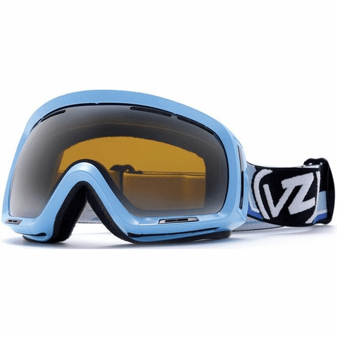 (Sale!!!) VonZipper DOJO Goggles<BR>BLUE RALLY/BRONZE CHROME