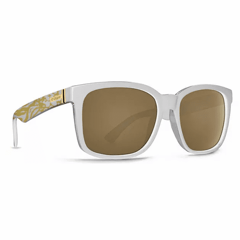 (Sale!!!) VonZipper Howl Sunglasses<br>Party Animals White/Gold Glo