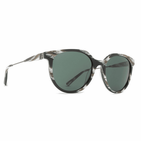 (Sale!!!) VonZipper Hyde Sunglasses<br>Horn Satin Gunmetal/Grey