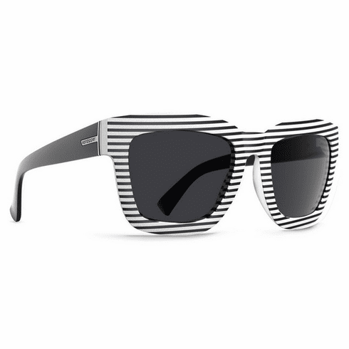 (Sale!!!) VonZipper Juice Sunglasses<br>White Stripe/Grey