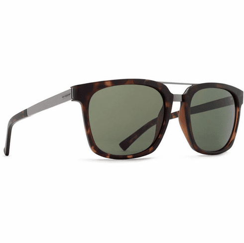 (SALE!!!) VonZipper Plimpton Sunglasses<br>Tortoise Satin/Vintage Grey