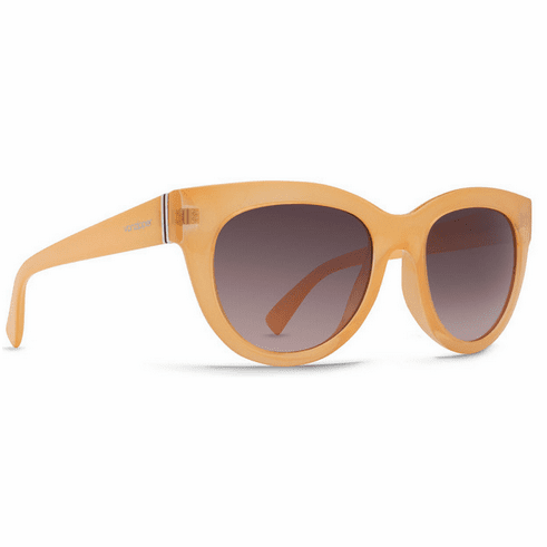 (Sale!!!) VonZipper Queenie Sunglasses<br>Peach Gloss/Grey Gradient