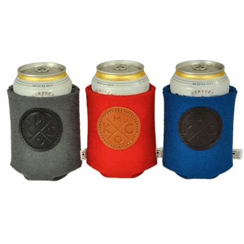 Sandlot x Bunker KCMO Heavy Duty Felt Can Cooler