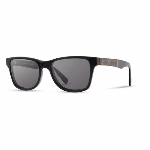 Shwood Canby Sunglasses<br>Black/Pinecone/Grey Polarized