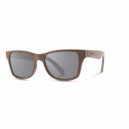 Shwood Canby Sunglasses<br>Walnut/Grey Polarized