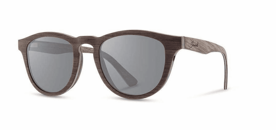 Shwood Francis Sunglasses<br>Walnut/Grey