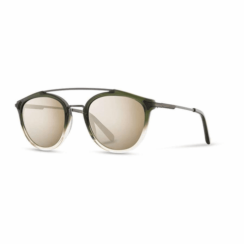 Shwood Kinsrow Sunglasses<br>Mojito/Ebony/Gold Mirror