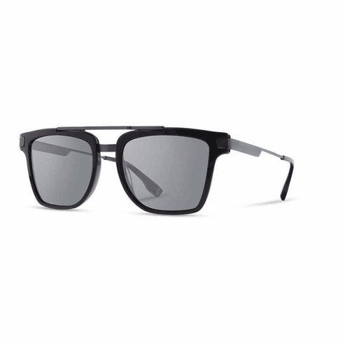 Shwood Lincoln Sunglasses<br>Black/Grey