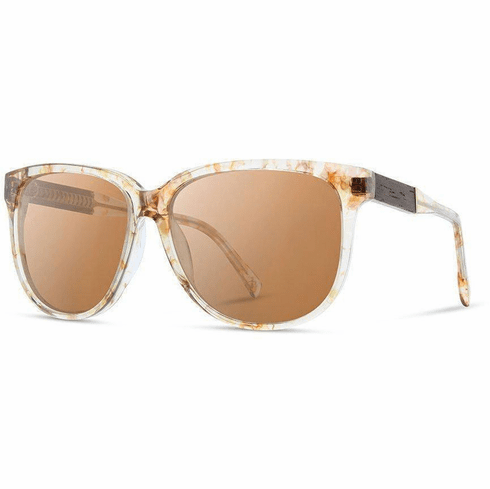 Shwood Mckenzie Sunglasses<br>Blossom/Ebony/Brown Polarized