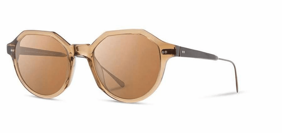 Shwood Powell Sunglasses<br>Copper Crystal/Ebony/Brown