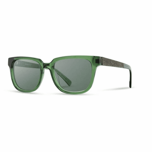 Shwood Prescott Sunglasses<br>Emerald/Mint Tea/G15