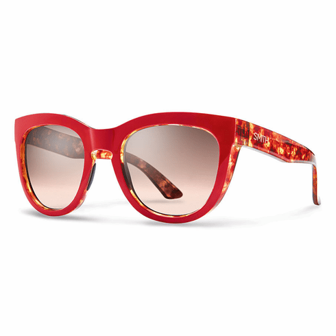 Smith Sidney Sunglasses<br>Red Tortoise/Sienna Gradient