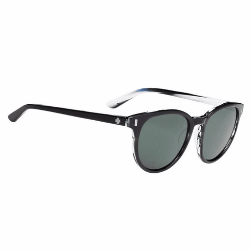 Spy Alcatraz Sunglasses<br>Crosstown Collection<br>Black Horn/Happy Grey Green