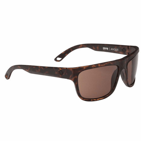Spy Angler Sunglasses<br>Matte Camo Tort/Happy Bronze