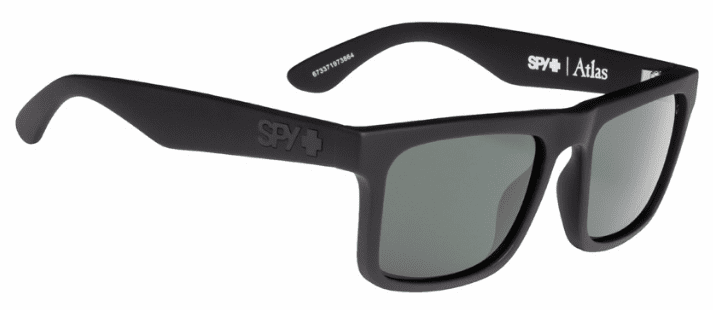 Spy Atlas Sunglasses<br>Soft Matte Black/HD Plus Grey Green Polarized