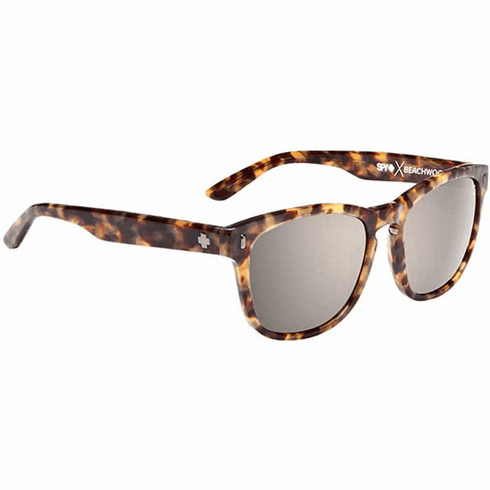Spy Beachwood Sunglasses<br>Crosstown Collection<br>Desert tort/Happy Bronze Polar w Black Mirror