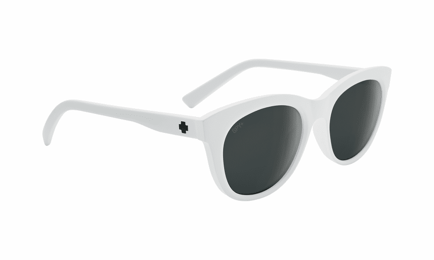 Spy Boundless Sunglasses<br>Matte White/Gray with Black Spectra Mirror