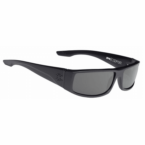 Spy Cooper Sunglasses<br>Soft Matte Black/HD Plus Grey Green