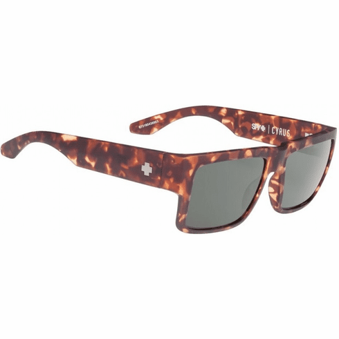 Spy Cyrus Sunglasses<br>Soft Matte Camo Tort/Happy Gray Green
